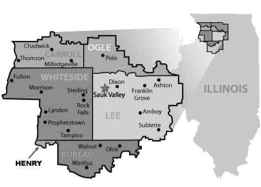 SVCC District Map